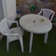 Balkon oder Garten Möbel zu