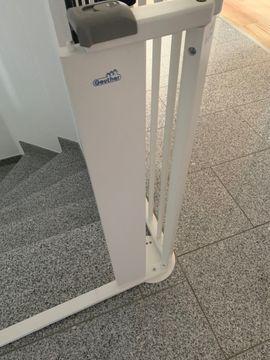 Geuther Treppenschutzgitter Konfigurationsgitter für Treppe: Kleinanzeigen aus Obersulm - Rubrik Laufställe, Hochstühle, Zubehör
