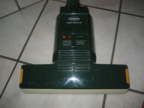 Vorwerk Teppich Frischer Teppichfrischer 730, Teppichreiniger, Teppichreinigungsmaschine