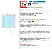 Terrassentür Balkontürelement mit Seitenteil 2385mm