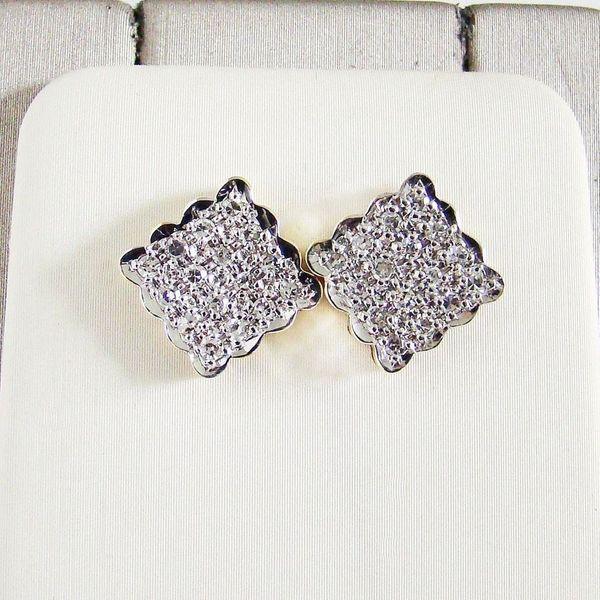 Ohrringe Gold 585er Diamanten 14
