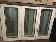 Kunststofffenster 3-flügelig mit Roma Rollladen
