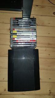 playstation 3 mit 13 Spielen