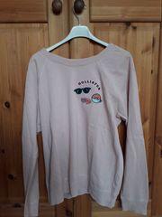Sweatshirt Pullover Hollister rosa Gr