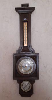 Vintage Wetterstation aus Holz