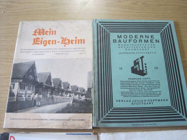 Bauzeitschriften Historisch