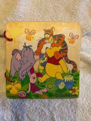 Winnie Puuh Bilderbuch aus Holz