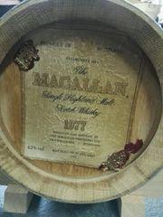 Macallan Whisky 1977 5l-Barrique Fass