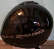 Motorrad-Helm in Schwarz