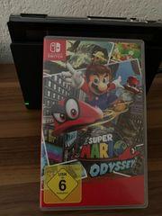 Super Mario Odyssey Switch Neuwertig