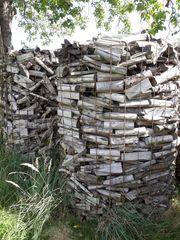 Brennholz Fichte ofenfertig mit Scheitlänge