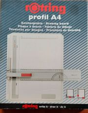 Zeichenplatte A4 von rotring mit