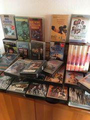 VHS Kassetten 50 Stück Western