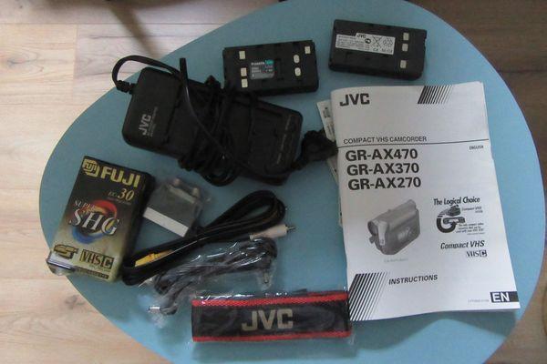 JVC Zubehör plus Kamera GR-AX270