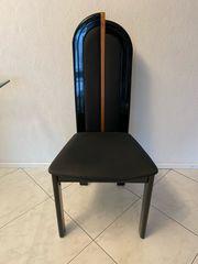 6 Designer Stühle Lack Hochglanz