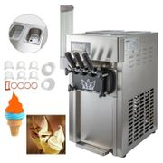 3 Sorten Softeismaschine Eismaschine Eiscrememaschine