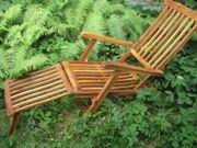 Sonnenliege Gartenliege Liegestuhl Deckchair Gartenmöbel