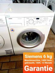 Siemens Waschmaschine 6kg 1400 Umin