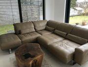 DSign Ledergarnitur Sofa Couch absolut
