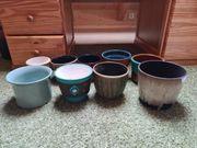 Blumentopf Keramik blumentopf 9 Stück