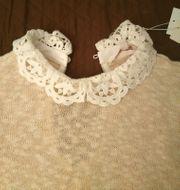 Strickpullover Spitze Pullover Damen Pulli