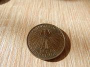 5 DM Münze Gedenkmünze 1986