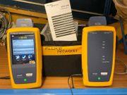 Fluke DSX-600 CableAnalyzer mit Adapter-Set