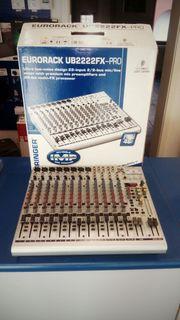 Studio-Mischpult Behringer Eurorack UB2222FX PRo