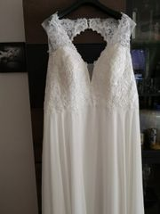Traumhaftes Brautkleid gr 46