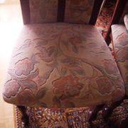 Stühle Esszimmer 2 Stück gepolstert