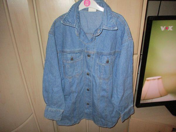 jeanshemd blau gr 128 für