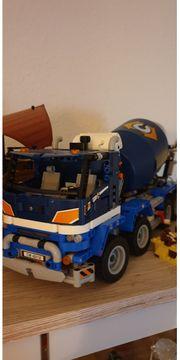 Lego-Betonmischer