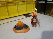 Playmobil Ureinwohner mit Feuer