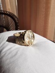 Diesel Golde Uhr