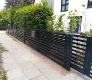 Zaun modern Zaunsystem Garten Billig