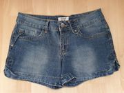 Stretch Jeans Short Gr 34