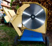 Brennholzsäge Wippsäge Scheppach wox d700