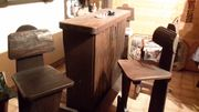 Bar mit Barhocker für Hobbyraum