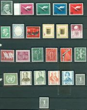 Bund postfrisch Jahrgang 1955 ohne