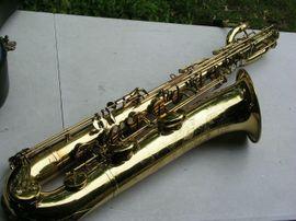 Blasinstrumente - Vintage Saxophon Baritonsaxophon Keilwerth Toneking