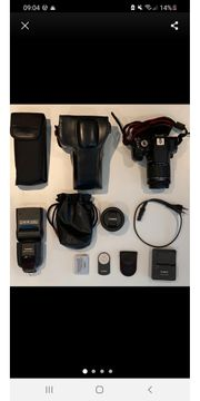 Canon EOS 700d mit viel