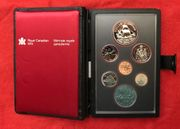 Silberdollar Münzset PP 1979 Canada