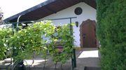 wunderschöner Pacht Garten Laube Terrasse
