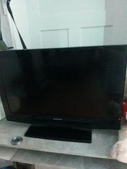 voll funktionsfähiger samsung flat tv