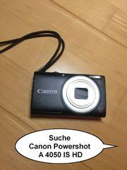 Suche Canon Powershot A 4050