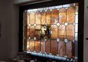 Fensterscheibe mit Bleiverglasung