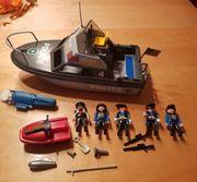 Polizeischiff und Hubschrauber von Playmobil