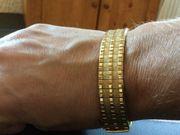 Damenarmband 60er Jahre Amerikaner Vergoldung