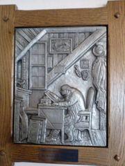 Zinnbild mit Motiv von Albrecht
