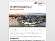 IT Consultant m w d
